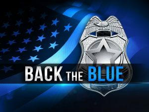 Back the Blue Parade